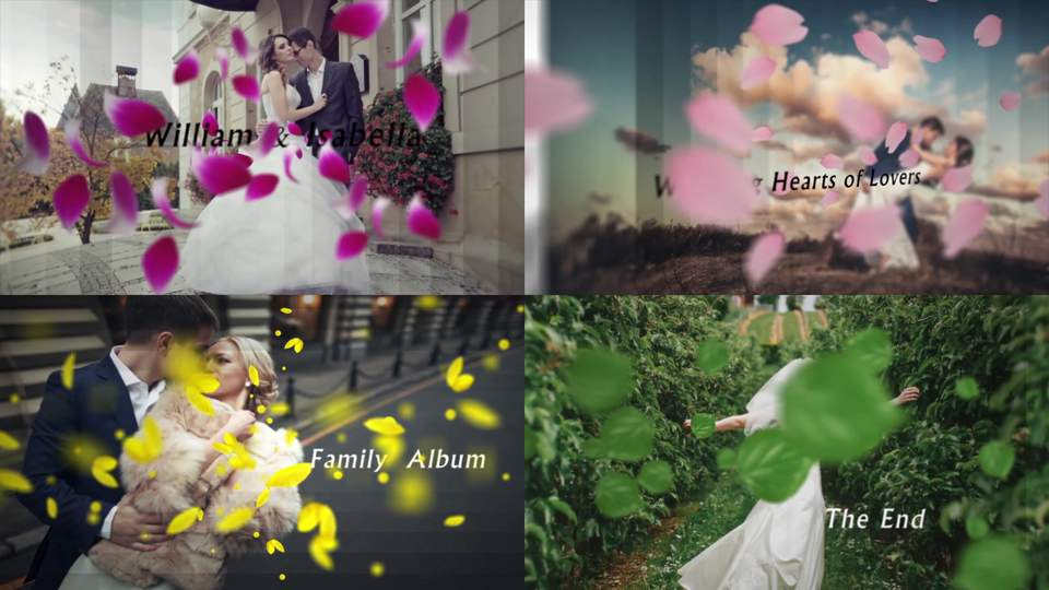 3d wedding slideshow after effects templates | 8991651, Presentation templates
