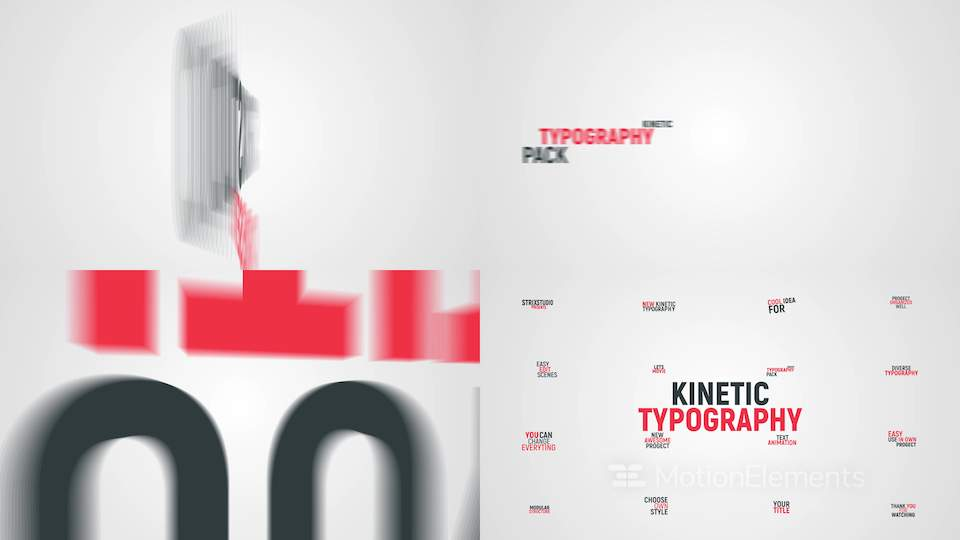 30 Best After Effects Text Animation Templates of 2017 | MotionElements