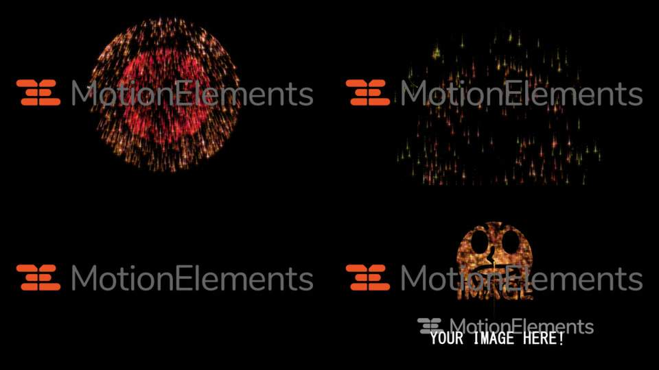 fireworks template aftereffects cc2018 with sound after effects