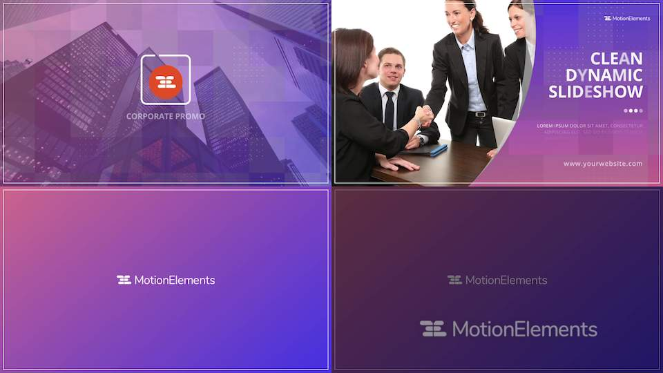 corporate business presentation promo after effects templates 11987795
