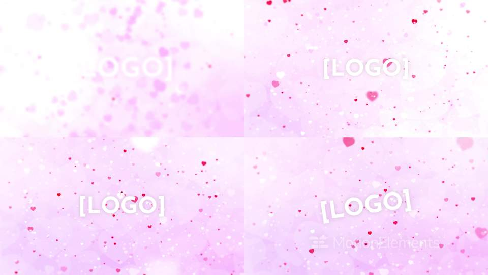 Valentines Day Logo Reveal After Effects Templates 12541117