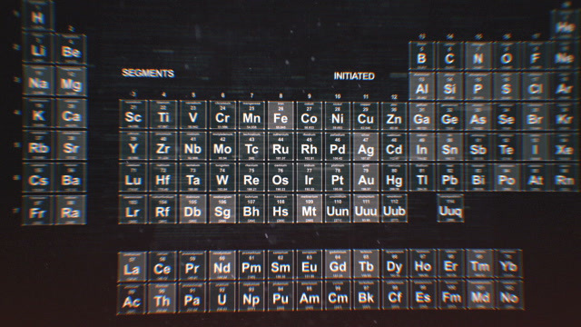Periodic table of the elements stock animation 8639207 urtaz Choice Image