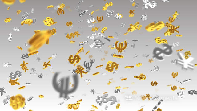 Money Symbol 2e Dollar Euro Yen W Hd Stock Animation 313177