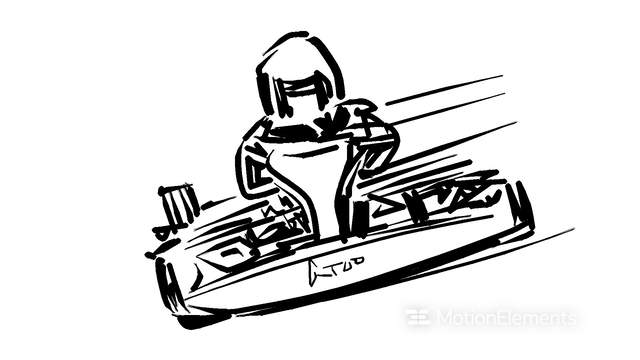 go kart movement stock animation 11978296 Amazing Street Go Karts