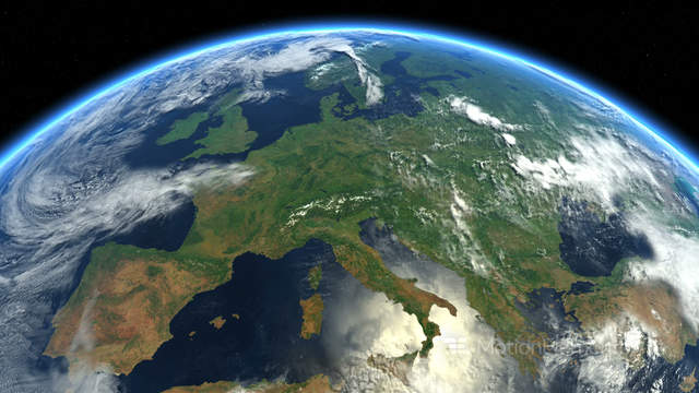Europe from space earth from space stock animation 9086976 earth from space stock animation 9086976 gumiabroncs Gallery