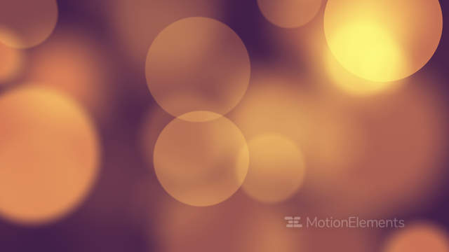 Faded Blurred Circles Slowmotion Loop Background 4k 4096x2304